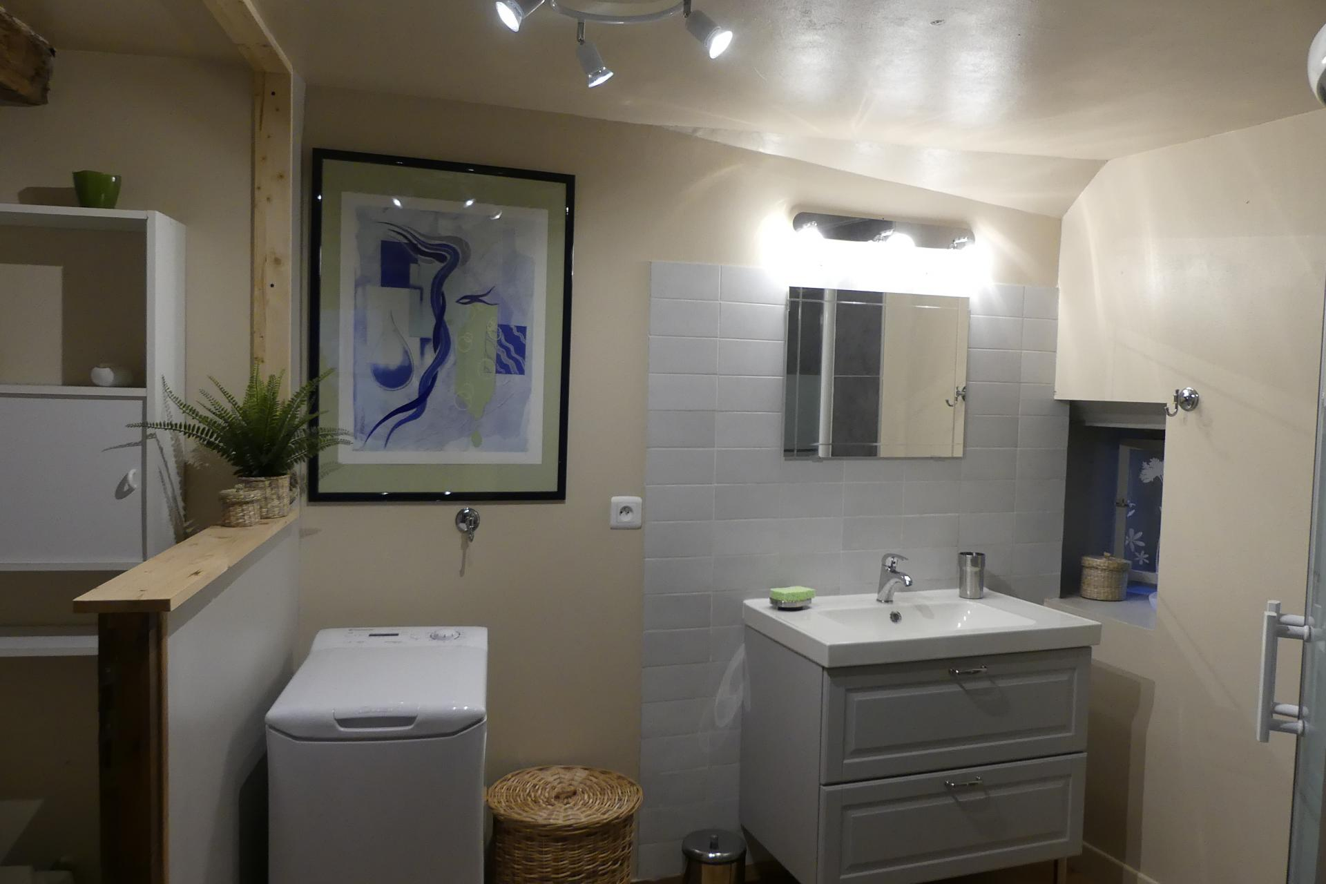 Aperçu de la salle de bain