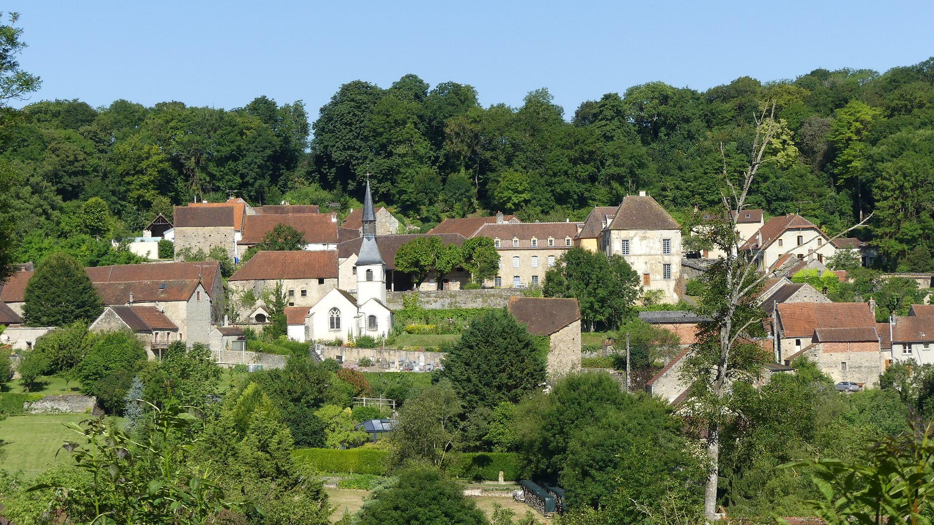 Sainte Colombe en Auxois