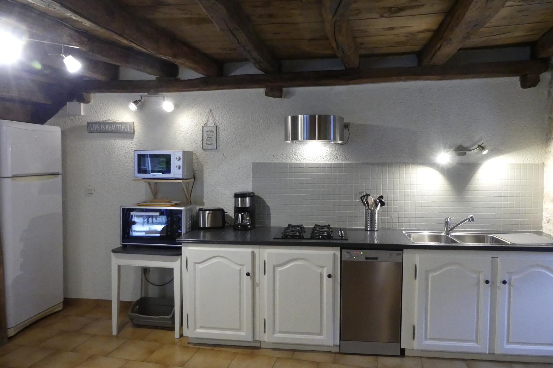 Autre aperçu de l'espace cuisine